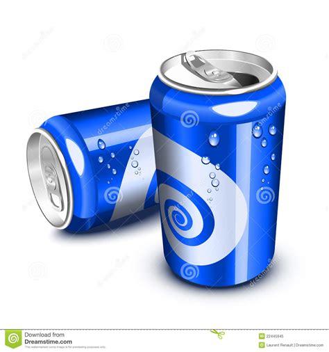 imágenes retro soda blue soda cans stock vector illustration of fresh metal