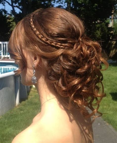 homecoming hairstyles long brown hair awesome brown hairstyle for homecoming and prom
