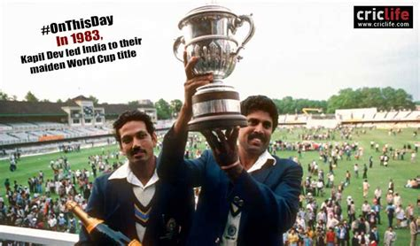 match incredible stats and 10 incredible stats and facts about the 1983 world cup final in which india beat the west indies