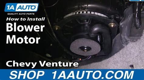 install replace heat ac fan  blower motor chevy