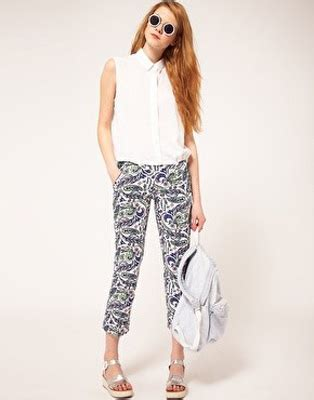 The Ultimate Cq Suitcase 2 Summer Shorts by Paisley Prints 7 Ways To Do Pyjama Trend In 2012