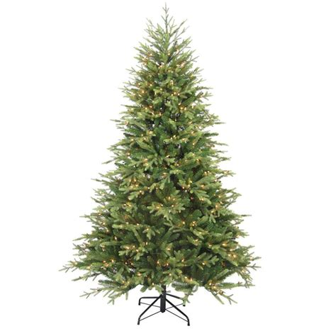 3 foot christmas tree with lights home accents holiday 7 5 ft pre lit balsam artificial