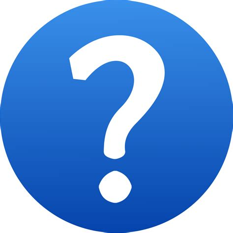 Or Question In Blue Question Clipart Clipart Suggest