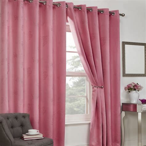 Blackout Curtains Thermal Pink Tony S Textiles Thermal Kitchen Curtains