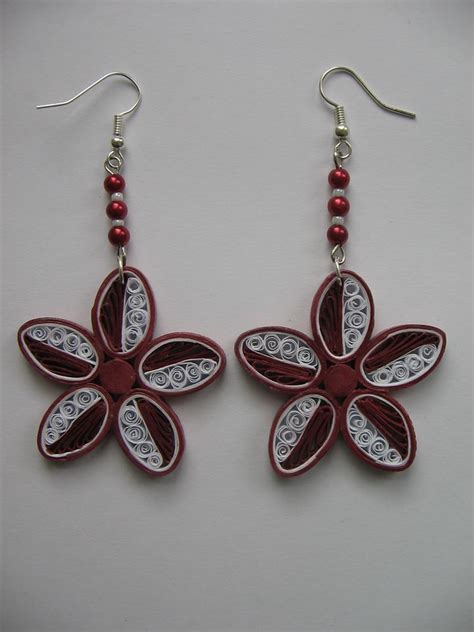 Paper Craft Paper Quilling Handmade Jewelry Earrings - 777 best quilling jewlery images on quilling