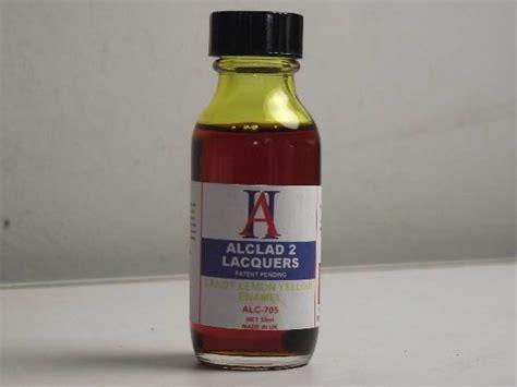 Alclad 705 Lemon Yellow Enamel alclad 2 plastic model kits paints and accessories uk