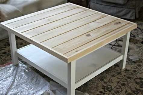 table basse customiser une table basse ikea