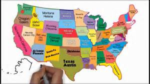 the 50 states and capitals song silly school songs
