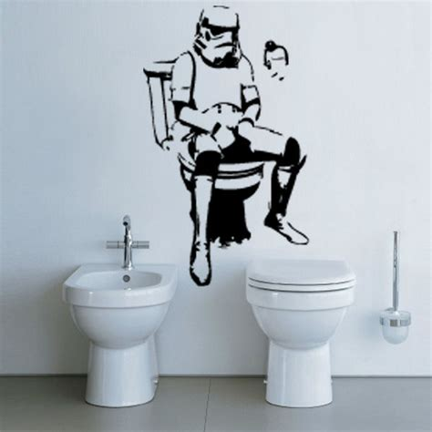 wars wall stickers uk wars trooper from banksy on your wall it 180 s possible