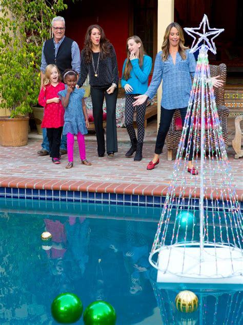 xmas pool decoration search viewer hgtv