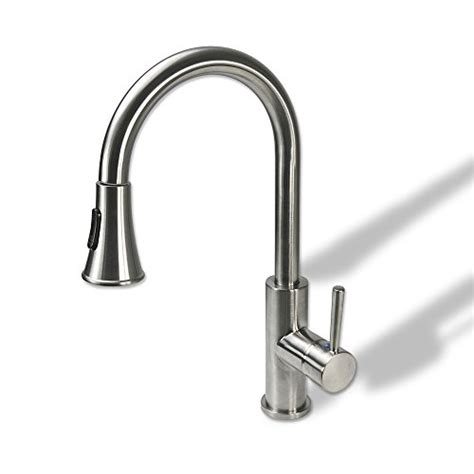 kitchen sink faucets reviews decor tpc11 tb contemporary decor star tpc11 tb contemporary 16 quot pull out spray