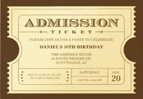 golden ticket invitation template invitation ideas by a professional planner