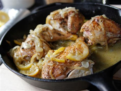 ina chicken skillet roasted lemon chicken recipe ina garten food