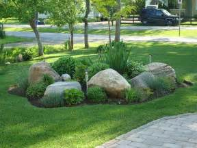Large Rocks For Gardens Easy Ideas For Landscaping With Rocks