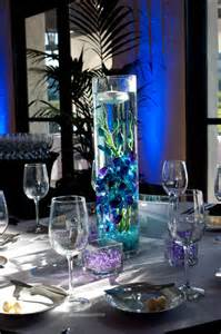 blue centerpieces beautiful blue wedding candle centerpieces ipunya