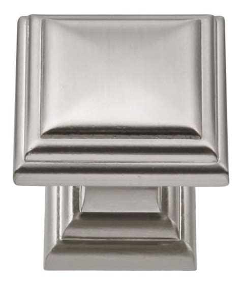 menards cabinet hardware pulls hickory hardware somerset collection 1 1 8 quot sq knob at