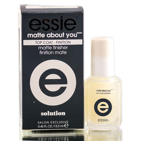 essie matte about you essie matte about you top coat finition solution top
