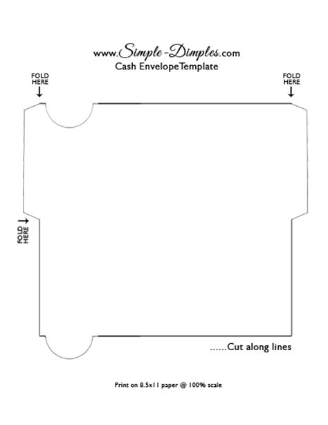 How To Make A Big Envelope Out Of Paper - simple dimples envelope system printable dave