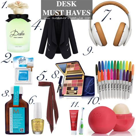 Desk Must Haves by 11 Office Must Haves Our Favorite Style