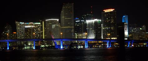 miami city skyline at night show us your country ae worldwide hangout airline empires