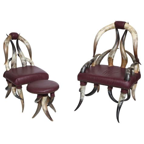 Horn Furniture by Steer Horn Furniture At 1stdibs