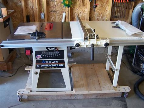Delta 10 Contractors Table Saw Table Design Ideas