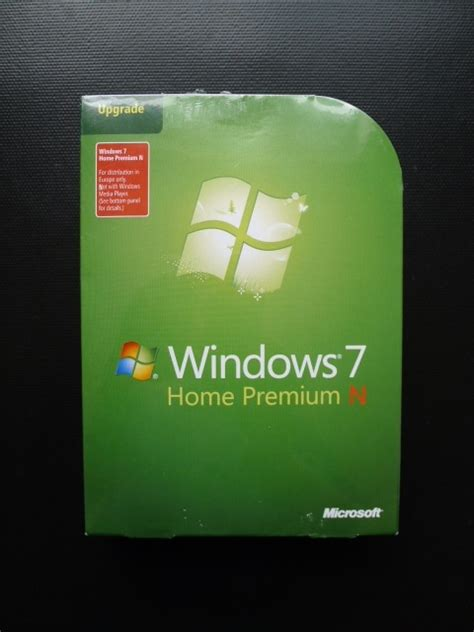 microsoft windows 7 home premium n upgrade from xp vista