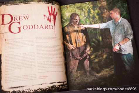 Cabin In The Woods Book by Book Review The Cabin In The Woods The Official Visual