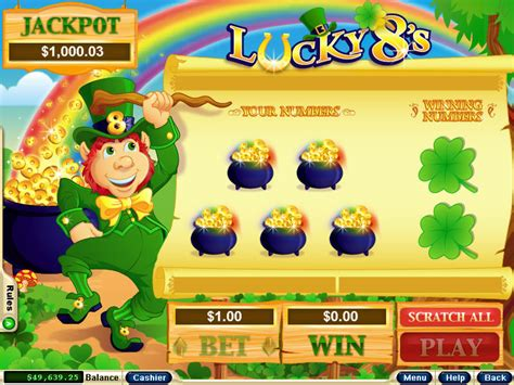 Win Money Instantly Free Scratch Cards - lucky 8 s scratch cards game