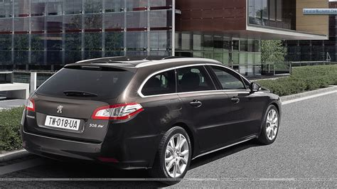 peugeot build and peugeot 508 sw parked outside a building wallpaper