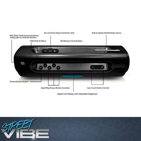 Portable Flash Player Transforms Usb In To Systems by New Pyle Pbmspg50 Bluetooth Portable Boombox Speaker W