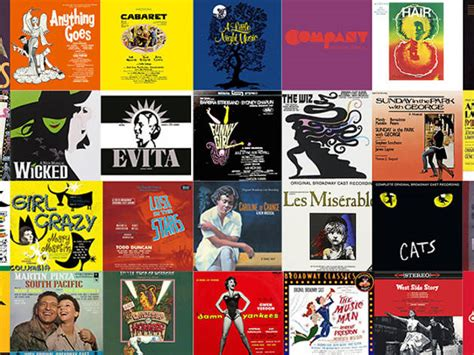 broadway best 50 best broadway songs written