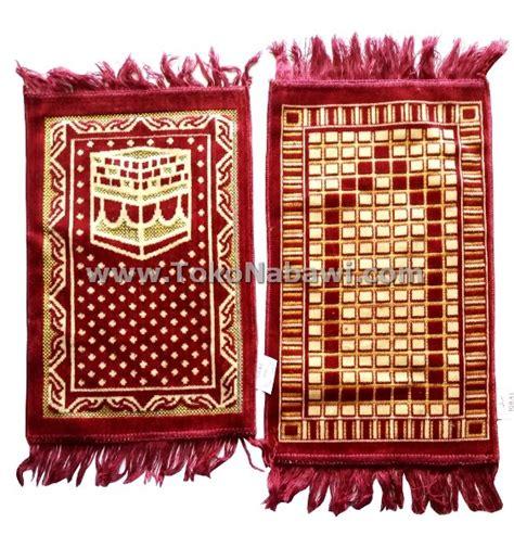 Sajadah Turki Hemat Tipis O267 sajadah turki mini oleh oleh haji