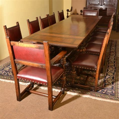 Vintage Oak Dining Table And Chairs by Regent Antiques Dining Tables And Chairs Table And