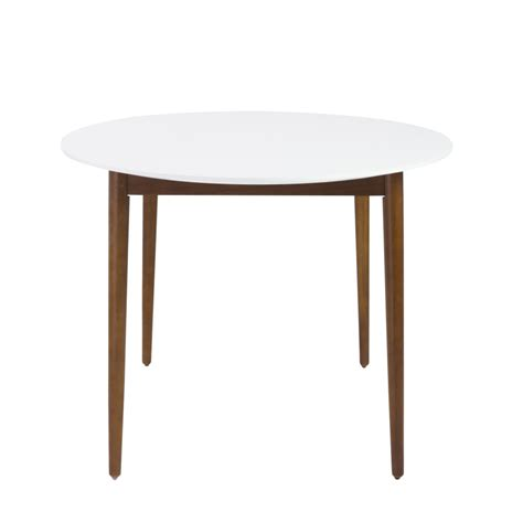 era oval dining table modern furniture brickell collection