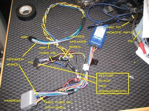 pac rp ch wiring  pioneer nex jk forumcom
