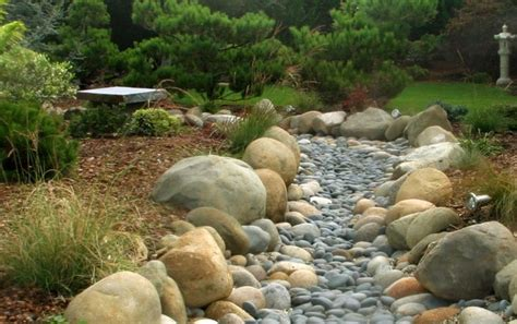 rock bed asian sanctuary asian landscape los angeles by