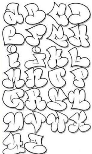 draw graffiti bubble letters softball baseball