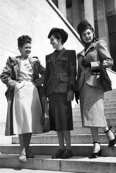 female and late forties 1940s fashion iconic looks and the women who made them