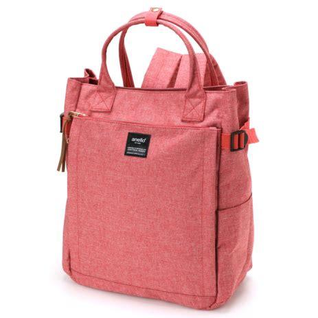 Ransel Anello 2 anello tas ransel 10 pocket 2 way pink jakartanotebook