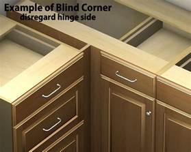 what is a blind corner cabinet 1 door 1 drawer blind corner base cabinet right