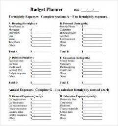 course organizer template budget planner template 8 free for pdf excel