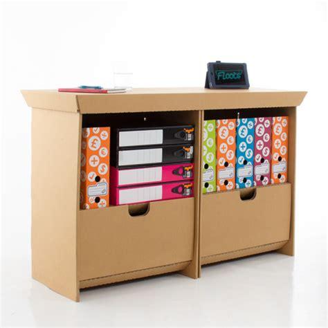 Cardboard Desk Drawers by Eco Drawer Unit Eco Floots Cardboard Furniture