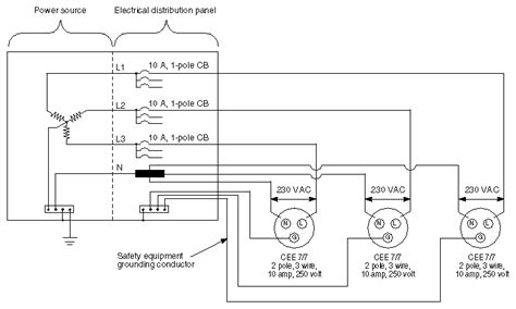 3 phase outlet wiring diagram 3 phase 20 wiring diagram efcaviation