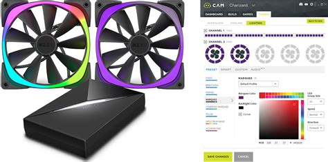 nzxt aer rgb fans nzxt unveils fully customizable aer rgb led fans