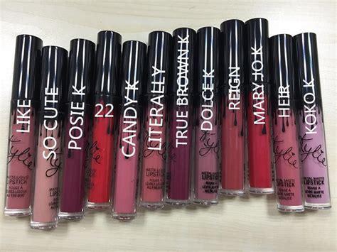 cuanto cuestan los lipstick kylie jenner lipstick jenner lipstick precio 10 lipkit kylie jenner lipstick y