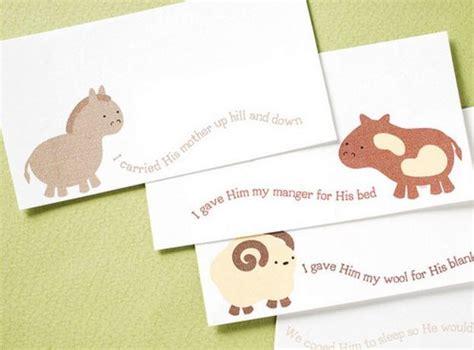 extra large printable gift tags friendly beasts printable christmas gift tags