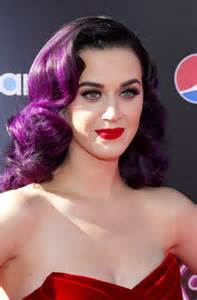 katy perry rainbow hair