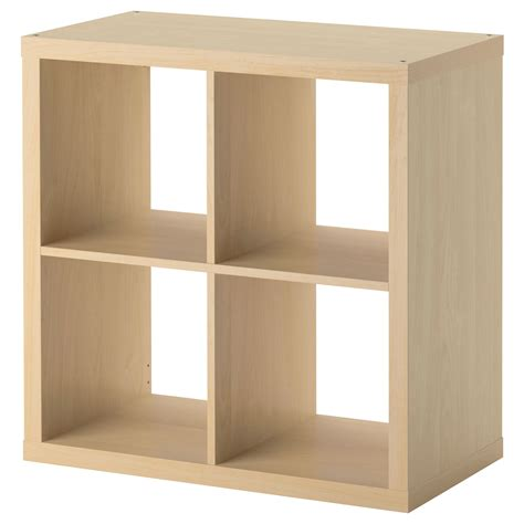 Ikea Square Bookcase ikea kallax 4 cube storage bookcase square shelving unit various colours