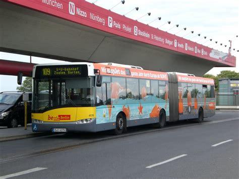 Bahnhof Zoologischer Garten Nach Tegel by Solaris Urbino Auf Der Linie 109 Nach S U Bahnhof